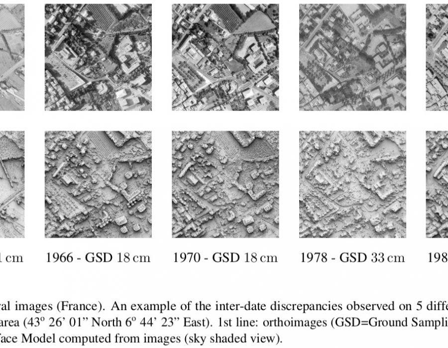 Geoprocessing and Archiving of Historical Aerial Images