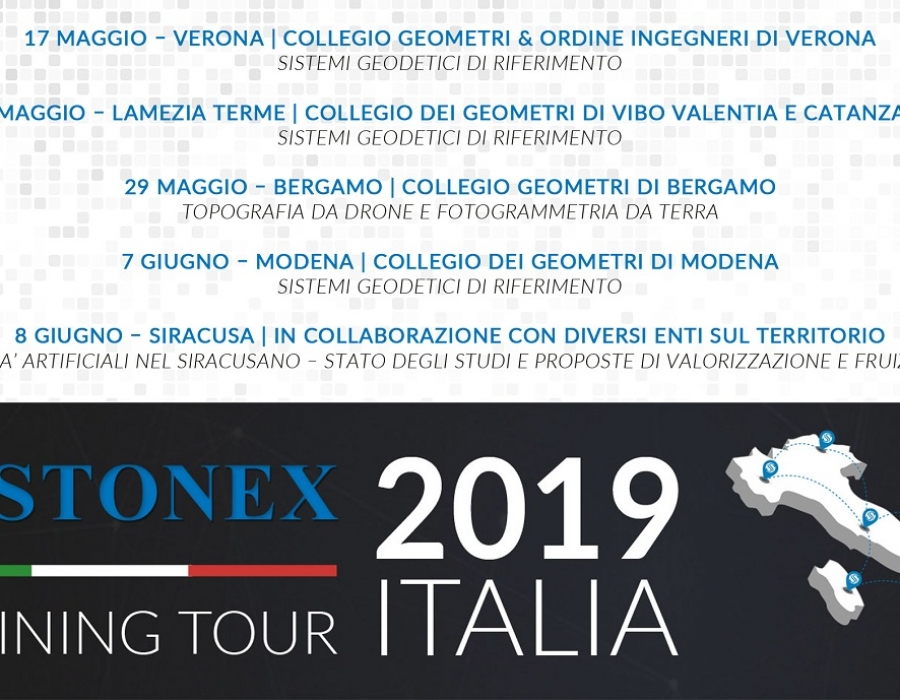 Stonex Training Tour Italia 2019