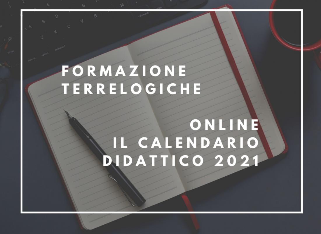Tor Vergata Calendario Accademico 2021 Online il calendario 2021 della Formazione TerreLogiche