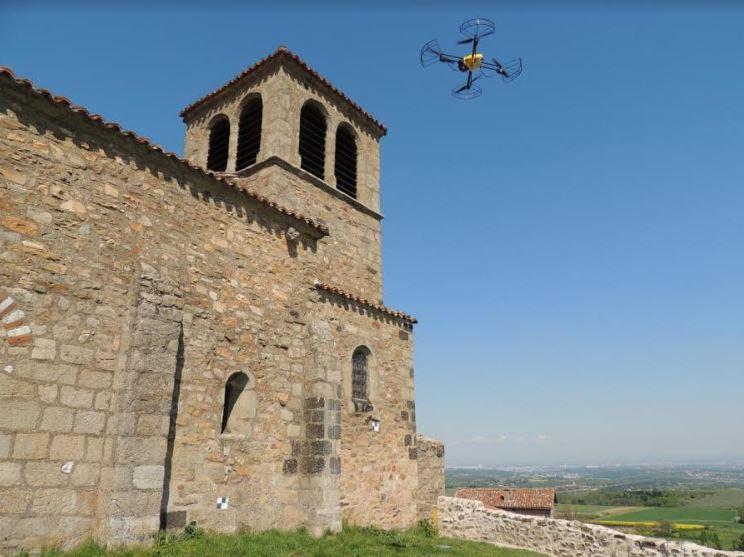 drone beniculturali