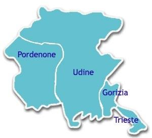 Regione Friuli Venezia Giulia Cartina.Sta Cambiando La Geografia Amministrativa Della Regione Friuli Venezia Giulia Gestione Del Territorio