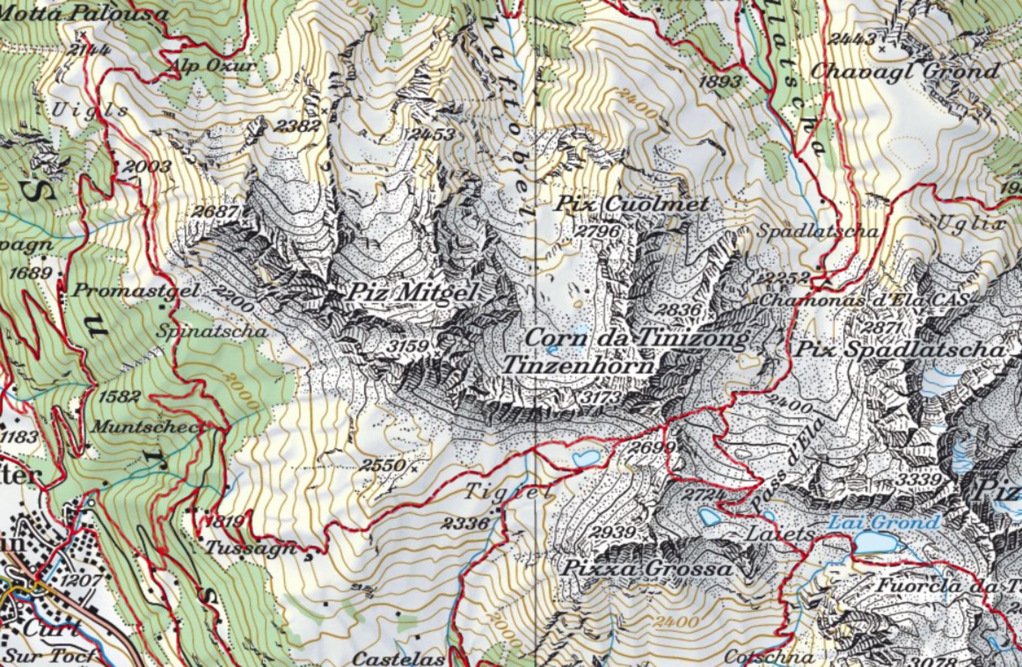 La Cartina Geografica Della Svizzera.Il Pazzesco Geoportale Della Svizzera Dati Geografici